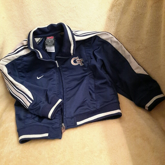 e34ef2c2d78c Nike Athletic Jacket Georgia Tech Bluegold